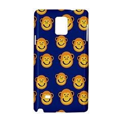 Monkeys Seamless Pattern Samsung Galaxy Note 4 Hardshell Case by Simbadda