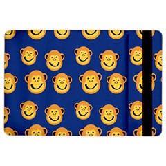Monkeys Seamless Pattern Ipad Air 2 Flip by Simbadda