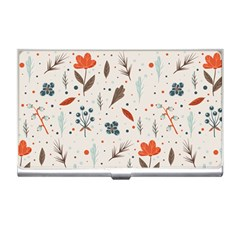 Seamless Floral Patterns  Business Card Holders by TastefulDesigns