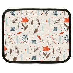 Seamless Floral Patterns  Netbook Case (xl)  by TastefulDesigns