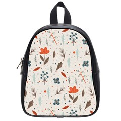 Seamless Floral Patterns  School Bags (small)  by TastefulDesigns