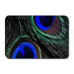 Peacock Feather Plate Mats by Simbadda