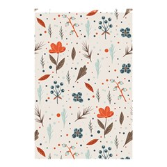 Seamless Floral Patterns  Shower Curtain 48  X 72  (small)  by TastefulDesigns