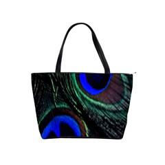 Peacock Feather Shoulder Handbags by Simbadda