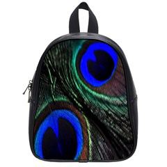 Peacock Feather School Bags (small)  by Simbadda