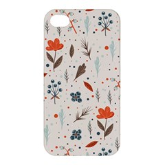 Seamless Floral Patterns  Apple Iphone 4/4s Premium Hardshell Case by TastefulDesigns