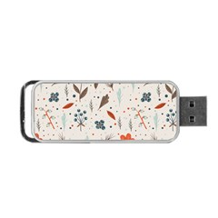 Seamless Floral Patterns  Portable Usb Flash (two Sides) by TastefulDesigns