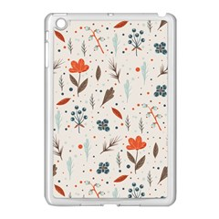 Seamless Floral Patterns  Apple Ipad Mini Case (white) by TastefulDesigns