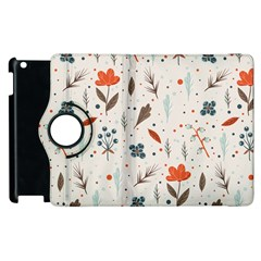 Seamless Floral Patterns  Apple Ipad 3/4 Flip 360 Case by TastefulDesigns