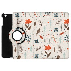 Seamless Floral Patterns  Apple Ipad Mini Flip 360 Case by TastefulDesigns