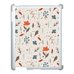 Seamless Floral Patterns  Apple Ipad 3/4 Case (white) by TastefulDesigns
