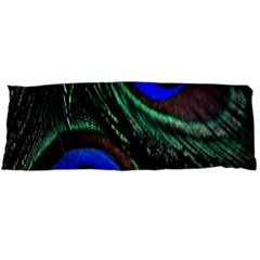 Peacock Feather Body Pillow Case (dakimakura) by Simbadda