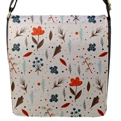 Seamless Floral Patterns  Flap Messenger Bag (s) by TastefulDesigns