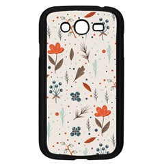 Seamless Floral Patterns  Samsung Galaxy Grand Duos I9082 Case (black) by TastefulDesigns