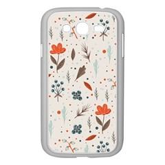 Seamless Floral Patterns  Samsung Galaxy Grand Duos I9082 Case (white) by TastefulDesigns