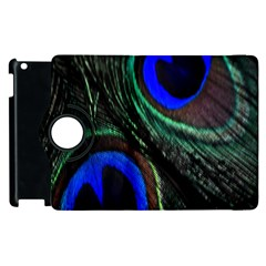 Peacock Feather Apple Ipad 2 Flip 360 Case by Simbadda