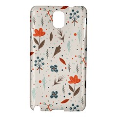 Seamless Floral Patterns  Samsung Galaxy Note 3 N9005 Hardshell Case by TastefulDesigns
