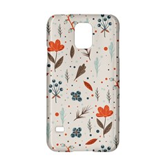 Seamless Floral Patterns  Samsung Galaxy S5 Hardshell Case  by TastefulDesigns