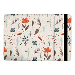 Seamless Floral Patterns  Samsung Galaxy Tab Pro 10 1  Flip Case by TastefulDesigns