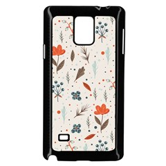 Seamless Floral Patterns  Samsung Galaxy Note 4 Case (black) by TastefulDesigns