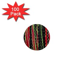 Alien Animal Skin Pattern 1  Mini Magnets (100 Pack)  by Simbadda