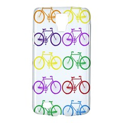Rainbow Colors Bright Colorful Bicycles Wallpaper Background Galaxy S4 Active by Simbadda