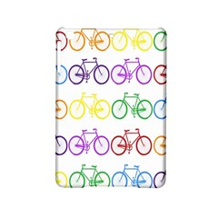 Rainbow Colors Bright Colorful Bicycles Wallpaper Background Ipad Mini 2 Hardshell Cases by Simbadda
