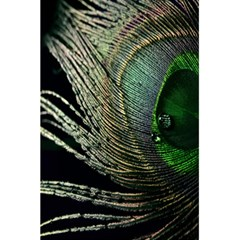Feather Peacock Drops Green 5 5  X 8 5  Notebooks by Simbadda