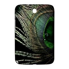 Feather Peacock Drops Green Samsung Galaxy Note 8 0 N5100 Hardshell Case  by Simbadda