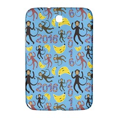 Cute Monkeys Seamless Pattern Samsung Galaxy Note 8 0 N5100 Hardshell Case  by Simbadda