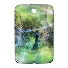 Digitally Painted Abstract Style Watercolour Painting Of A Peacock Samsung Galaxy Note 8 0 N5100 Hardshell Case  by Simbadda