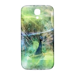Digitally Painted Abstract Style Watercolour Painting Of A Peacock Samsung Galaxy S4 I9500/i9505  Hardshell Back Case by Simbadda