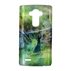 Digitally Painted Abstract Style Watercolour Painting Of A Peacock Lg G4 Hardshell Case by Simbadda