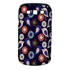 Cute Birds Pattern Samsung Galaxy S Iii Classic Hardshell Case (pc+silicone) by Simbadda