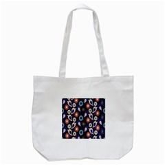 Cute Birds Pattern Tote Bag (white) by Simbadda