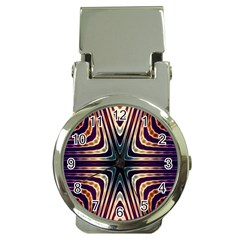 Colorful Seamless Vibrant Pattern Money Clip Watches by Simbadda