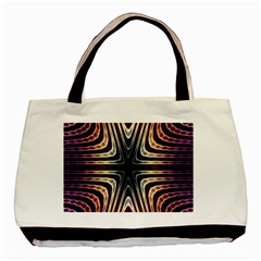 Colorful Seamless Vibrant Pattern Basic Tote Bag by Simbadda
