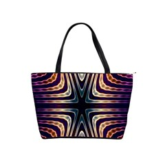 Colorful Seamless Vibrant Pattern Shoulder Handbags by Simbadda
