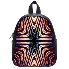 Colorful Seamless Vibrant Pattern School Bags (small)  by Simbadda