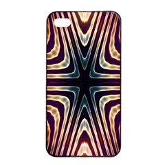 Colorful Seamless Vibrant Pattern Apple Iphone 4/4s Seamless Case (black) by Simbadda