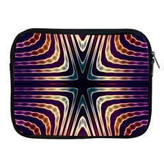 Colorful Seamless Vibrant Pattern Apple Ipad 2/3/4 Zipper Cases by Simbadda