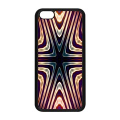 Colorful Seamless Vibrant Pattern Apple Iphone 5c Seamless Case (black) by Simbadda