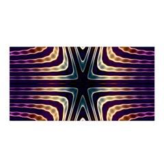 Colorful Seamless Vibrant Pattern Satin Wrap by Simbadda