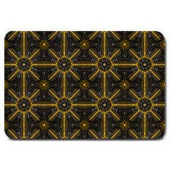Seamless Symmetry Pattern Large Doormat  by Simbadda