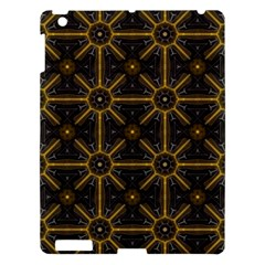 Seamless Symmetry Pattern Apple Ipad 3/4 Hardshell Case by Simbadda
