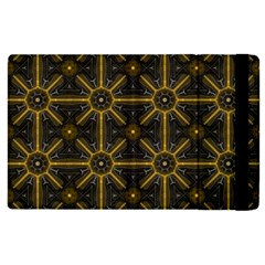 Seamless Symmetry Pattern Apple Ipad 2 Flip Case by Simbadda