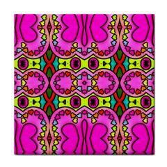 Love Hearths Colourful Abstract Background Design Face Towel by Simbadda