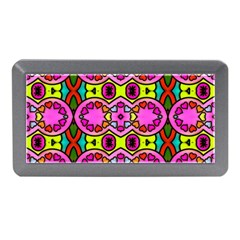 Love Hearths Colourful Abstract Background Design Memory Card Reader (mini) by Simbadda