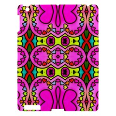 Love Hearths Colourful Abstract Background Design Apple Ipad 3/4 Hardshell Case by Simbadda