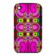 Love Hearths Colourful Abstract Background Design Iphone 3s/3gs by Simbadda